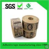 壊れた提供へのクラフトの紙テープ容易印刷した
