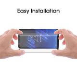 2017 Galaxy S8 Protecteur d'écran pour téléphone portable 3D Curved Coffret de protection complet Protecteur d'écran en verre tempéré amical pour Samsung Galaxy S8