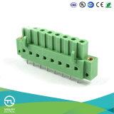 Utlの製造5.0mmピッチPCBの端子ブロックのコネクター