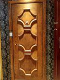 Porte blindée de porte en acier en bois