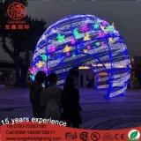 Kugel-Basisrecheneinheits-Weihnachtslicht LED-Gaint für im Freienbeleuchtung-Dekoration