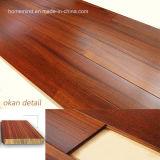 Suelo de madera de /Okan del suelo de madera dura de Iroko del suelo de madera sólida de Okan