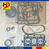 Het Reviseren van D1703 D1503 Pakking voor Dieselmotor die Kubota wordt geplaatst