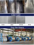 Piel de acero estampada vendedora caliente de la puerta con alta calidad