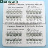 Corchete dental ortodóntico certificado FDA/Ce/ISO del nuevo color de la fabricación de Denrum