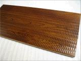 Suelo de madera natural de la protección del medio ambiente