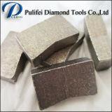 El segmento del granito de la lámina del diamante con 900m m consideró las láminas para el corte de piedra