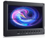 """Монитор входного сигнала 4k 7 """" LCD HDMI с алюминиевой конструкцией 1920X панель 1200 IPS"""