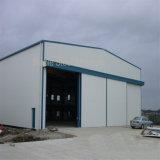 Estrutura do frame de aço para o armazém e o hangar