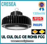 UFO LED Highbay de la luz de la gasolinera IP65 de China 2017 para el almacén China LED Highbay ligero, UFO LED Highbay