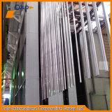 Perfil de alumínio horizontal Revestimento em pó Design de linha automática