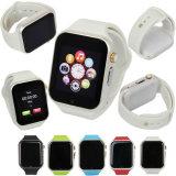 Compagnon sec de téléphone d'appel de FT de SIM GM/M de sports de montre de Bluetooth de portable de la montre-bracelet A1 pour l'iPhone androïde