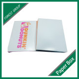 인쇄한 음식 급료 도넛 포장 종이상자를 주문 설계하십시오