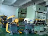 Alimentador automático da folha da bobina com Straightener e uso de Uncoiler na máquina da imprensa na fábrica do alimentador