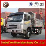 Caminhão de descarga 30t off-Road famoso do tipo FAW 6X6 de China, caminhão de Tipper na venda