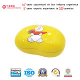 Popular Among Children: Cartoon Designed Sweet Metal Box/Gift Tin/Candy Can (B001 - V9)