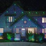 Kerstmis van de Ster van de laser steekt het OpenluchtLicht van de Laser van de Douche aan