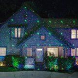 Laser Star Luzes de Natal Outdoor Shower Laser Light