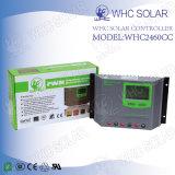 Пластичные регуляторы 12V/24V панели солнечных батарей раковины PWM
