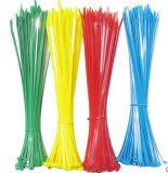 La fermeture éclair en nylon de câble attache l'individu verrouillant la résistance à la traction de 370mm 50lbs, 100-Pack