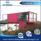 Casa modular personalizada 2 assoalhos do recipiente do tamanho no projeto Home