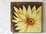 オランダの菊パターンホーム装飾的なキャンバスのハングの絵画
