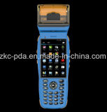 terminal Handheld da posição do varredor do código de barras do laser 1d 2D (ZKC3502)