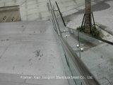 De Leuning van de Balustrade van het Roestvrij staal van het Bouwmateriaal