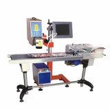 Producto-Línea tipo máquina de Hzlf -30 de la marca de la etiqueta de plástico del laser de la fibra de China