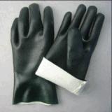 Двойной PVC стороны покрыл перчатку с Knit Liner-5130 шнура
