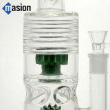 Tubulação de fumo de vidro da tubulação de água com engrenagens (AY 005)
