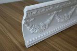Polyuréthane de décoration découpant la tête de moulage de corniche moulant pour l'usage architectural