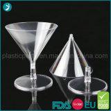 Freier/transparenter Farben-Plastik-PS-Wegwerfmininachtisch-Cup