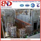 Linha do tratamento térmico da liga de alumínio para o tratamento térmico T6 de alumínio