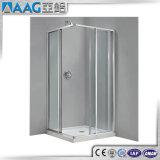 2017 partitions en verre en aluminium de douche de brillant neuf de produit/bâti de pièce jointe douche de glissière