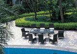 Rattan-Möbel für den Balkon/Hotel, die Stühle des Set-2 speisen
