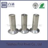 rebite de alumínio contínuo principal escareado liso de 8X24mm