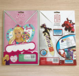 Etiquetas engomadas reutilizables modificadas para requisitos particulares y un álbum de la etiqueta engomada para los niños