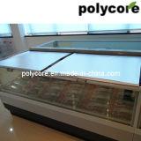 商業冷凍の水平のショーケースのカーテン