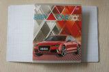 Schule-Kursteilnehmer-Papier-Übungs-Buch-personifiziertes Notizbuch des vollständigen Verkaufs-preiswertes A4 A5 (Zoll)