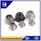Noce Hex d'acciaio di alluminio/galvanizzata della flangia