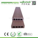 Plancher extérieur imperméable à l'eau de balcon de Decking de WPC