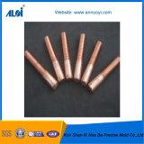 Électrode de cuivre d'amorçage de tungstène d'EDM pour l'usinage déchargeant électronique
