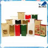 Bolsa de papel de papel de encargo del regalo del bolso de compras de la impresión
