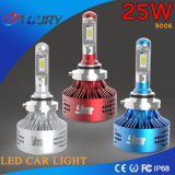 Auto farol do diodo emissor de luz do poder superior 25W para o Ce 4WD do carro 9006