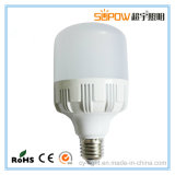 Bomba de plástico de lâmpada de plástico barata substituição de lâmpada de iluminação LED cilíndrica