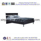 나무로 되는 1인용 침대 두바이 호텔 가구 침실 가구 (SH-023#)
