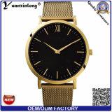 O relógio de pulso da moda do couro do Mens de quartzo do relógio da boa qualidade da forma Yxl-339 projeta relógios de homens de negócio por atacado