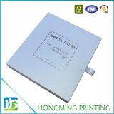Caja de regalo cosmética de encargo de lujo de la cartulina de papel