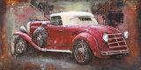 Auto 3 het Olieverfschilderij van het Metaal van D